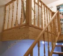 Лестница из массива в Краснодаре