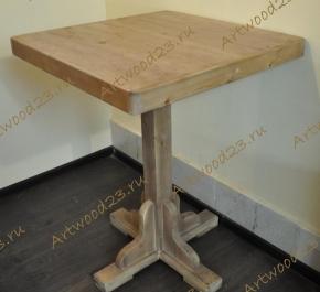 Стол квадратный с атлантиками