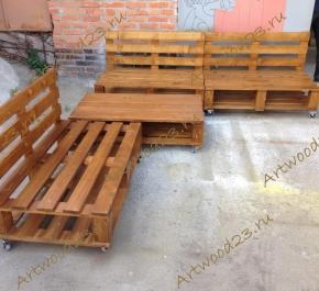 Мебель в стиле паллет