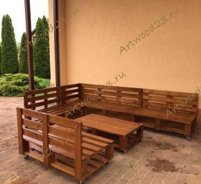 Мебель под заказ из паллет в Краснодаре