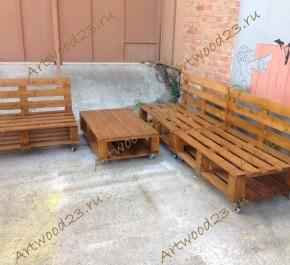 Мебель из паллет в Краснодаре